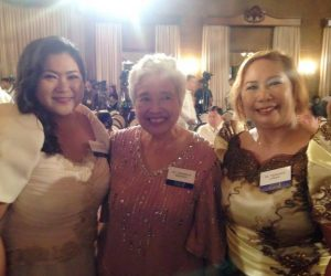 SMILE OF SUCCESS. Dr. Katherine Faith M. Bustos (left) poses with the DepEd Secretary Leonor M. Briones (center) and the principal of the Nueva Vizcaya General Comprehensive High School, Dr. Trinidad B. Logan (right) during the recognition rites at the Malacañang Palace. (contributed photo)
