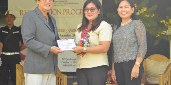 BSE Alumna: Outstanding Teacher of the Philippines 2016